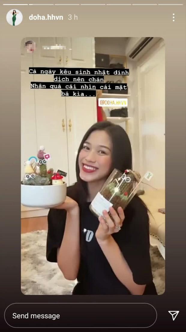 Sinh nhật đầu tiên của Đỗ Thị Hà sau khi đăng quang Hoa hậu: Khoe visual đời thường xinh xỉu, bất ngờ với loạt ảnh bị dìm! - Ảnh 3.