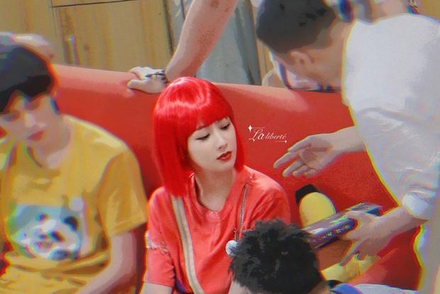 Dương Tử tự hủy visual với quả đầu đỏ như cà chua, tái hiện vai diễn thời trẻ trâu 16 năm trước - Ảnh 3.