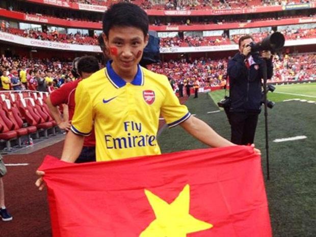 Nam sinh 8 năm trước chạy 8km theo đội tuyển Arsenal quanh bờ Hồ: Mời mức lương 100 triệu/tháng nhưng từ chối, cuộc đời thay đổi ngoạn mục! - Ảnh 4.