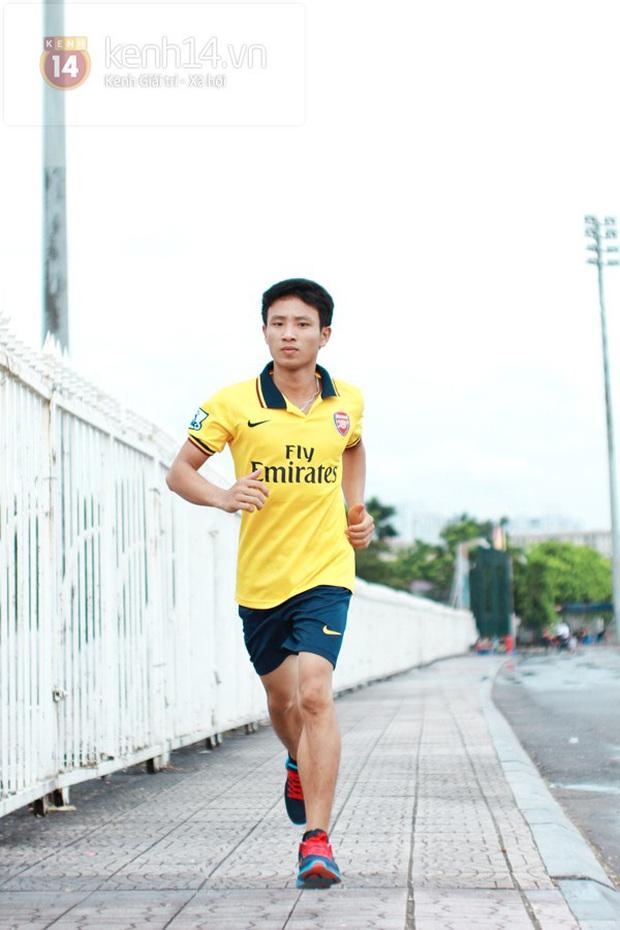 Nam sinh 8 năm trước chạy 8km theo đội tuyển Arsenal quanh bờ Hồ: Mời mức lương 100 triệu/tháng nhưng từ chối, cuộc đời thay đổi ngoạn mục! - Ảnh 7.
