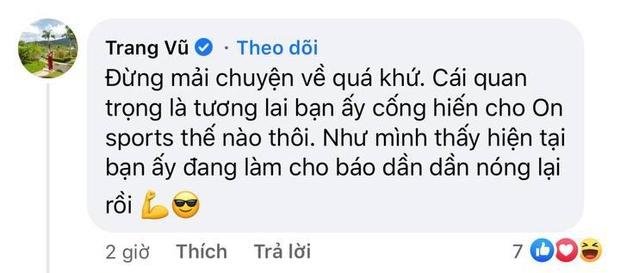 Mẹ nuôi Quang Hải công khai ủng hộ Huỳnh Anh làm BTV thể thao, nói gì mà nhắc đến cả quá khứ? - Ảnh 2.