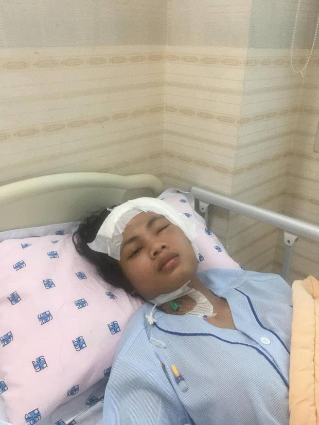 Cập nhật hình ảnh của học trò Minh Tú sau ca phẫu thuật vì viêm màng não - Ảnh 2.