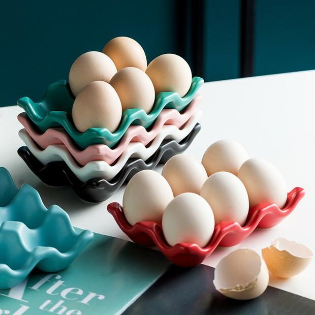 Đến mấy cái đồ đựng trứng giờ cũng xinh quá, tậu về thì gian bếp trông iu hẳn  - Ảnh 3.