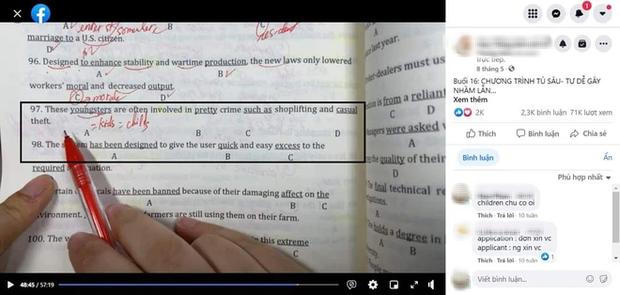 Câu hỏi Tiếng Anh tưởng dễ, ai ngờ cả giáo viên nổi tiếng cũng làm sai, dân tình đọc xong mà lú lẫn - Ảnh 1.