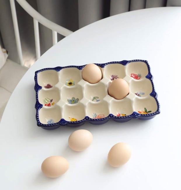 Đến mấy cái đồ đựng trứng giờ cũng xinh quá, tậu về thì gian bếp trông iu hẳn  - Ảnh 7.