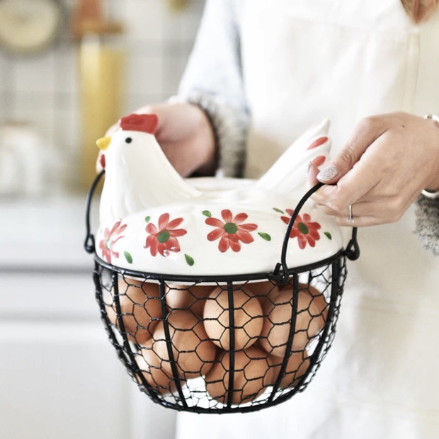 Đến mấy cái đồ đựng trứng giờ cũng xinh quá, tậu về thì gian bếp trông iu hẳn  - Ảnh 11.