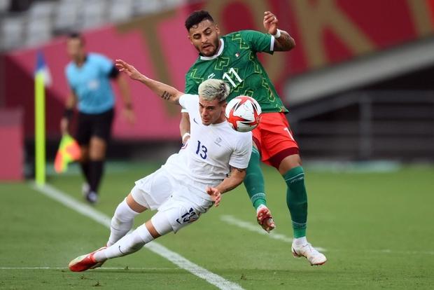 Vùi dập đội tuyển Pháp với tỷ số choáng váng 4-1, Mexico ra quân chất lừ tại Olympic 2020 - Ảnh 1.
