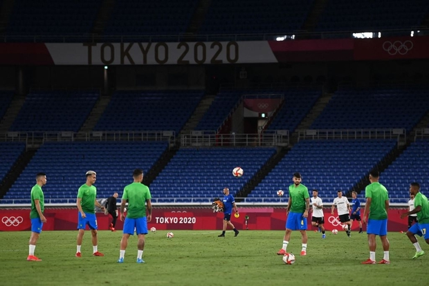 Sao Ngoại hạng Anh tỏa sáng rực rỡ, Brazil hạ gục Đức trong cơn mưa bàn thắng ở trận ra quân Olympic 2020 - Ảnh 23.