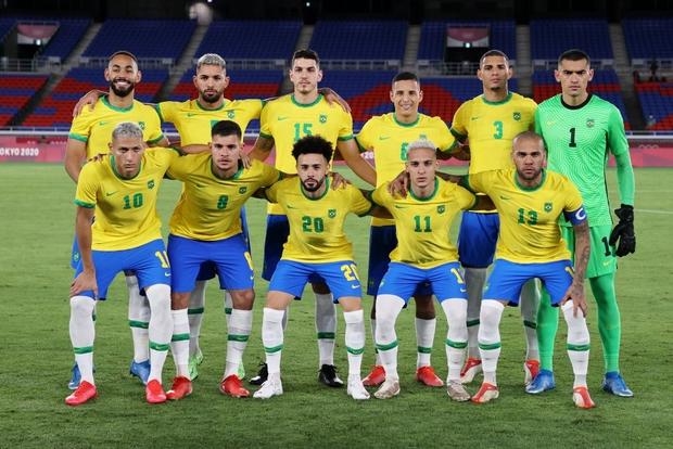 Sao Ngoại hạng Anh tỏa sáng rực rỡ, Brazil hạ gục Đức trong cơn mưa bàn thắng ở trận ra quân Olympic 2020 - Ảnh 14.