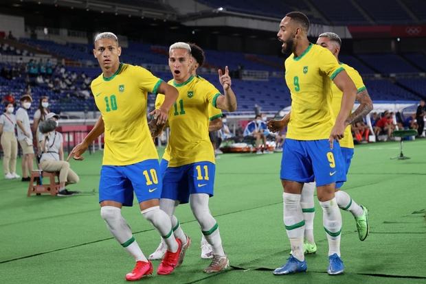Sao Ngoại hạng Anh tỏa sáng rực rỡ, Brazil hạ gục Đức trong cơn mưa bàn thắng ở trận ra quân Olympic 2020 - Ảnh 12.