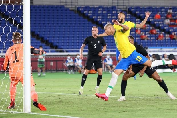 Sao Ngoại hạng Anh tỏa sáng rực rỡ, Brazil hạ gục Đức trong cơn mưa bàn thắng ở trận ra quân Olympic 2020 - Ảnh 10.