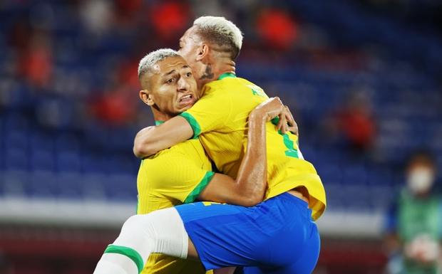Sao Ngoại hạng Anh tỏa sáng rực rỡ, Brazil hạ gục Đức trong cơn mưa bàn thắng ở trận ra quân Olympic 2020 - Ảnh 11.