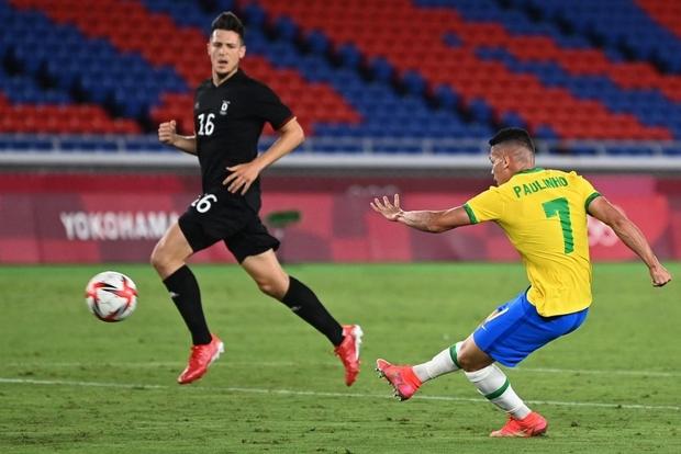 Sao Ngoại hạng Anh tỏa sáng rực rỡ, Brazil hạ gục Đức trong cơn mưa bàn thắng ở trận ra quân Olympic 2020 - Ảnh 3.
