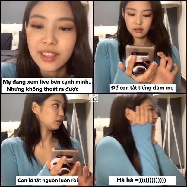 Những pha low tech của Jennie (BLACKPINK) khiến netizen cười đau cả bụng - Ảnh 3.