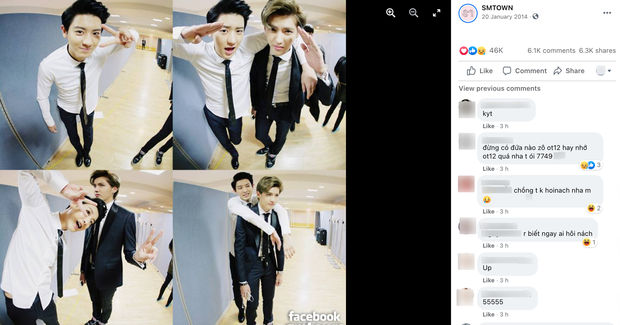 Ảnh couple bắt cá nghìn tay của EXO bỗng bị netizen khủng bố, Chanyeol dính nghi vấn viêm cánh vì biểu cảm của Ngô Diệc Phàm - Ảnh 3.
