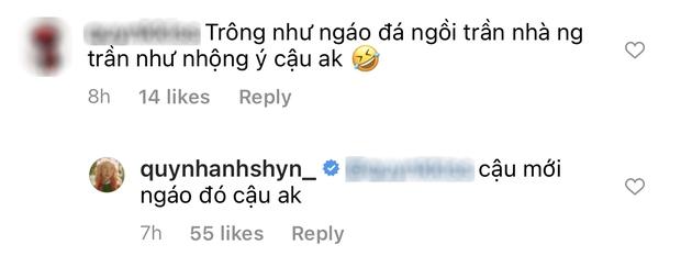 Quỳnh Anh Shyn hack mắt người xem với video nhìn như không mặc quần ngồi trên nóc nhà - Ảnh 3.