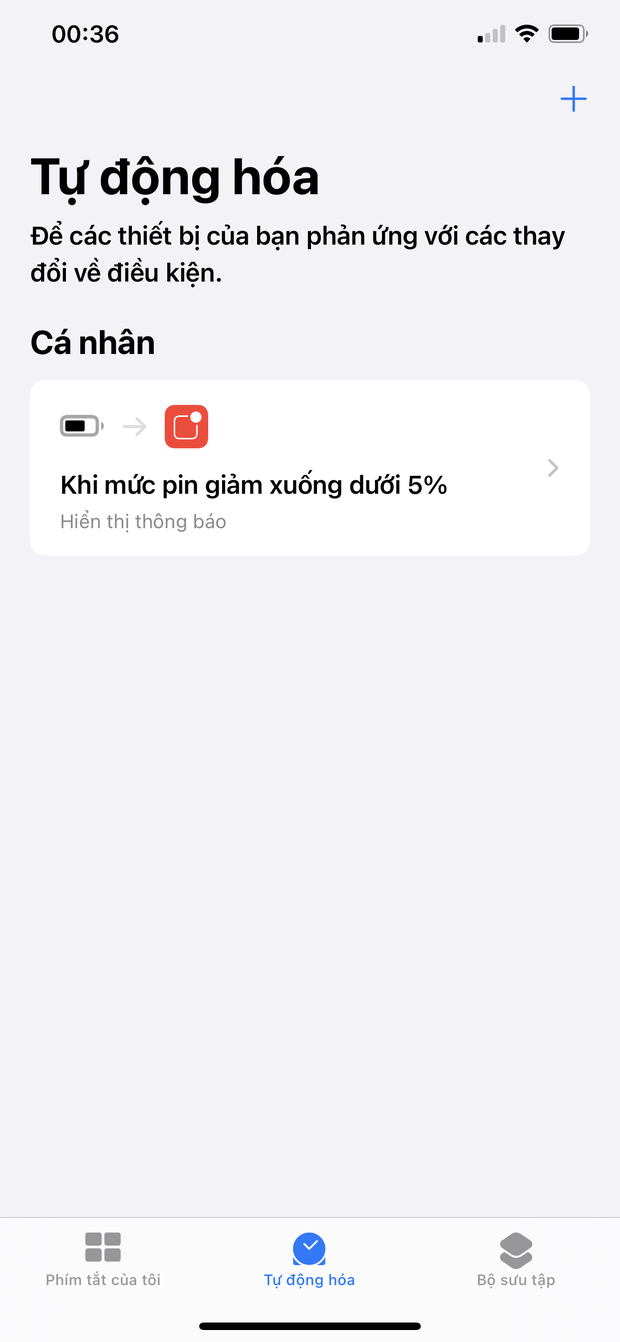 Mẹo tạo thông báo nhắc sạc iPhone siêu đỉnh khiến bạn trở nên độc nhất vô nhị, ném đi nỗi lo sập nguồn! - Ảnh 5.