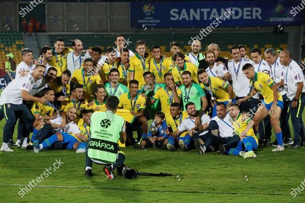 Preview ĐT bóng đá Olympic Brazil: Tham vọng bảo vệ tấm huy chương vàng - Ảnh 1.