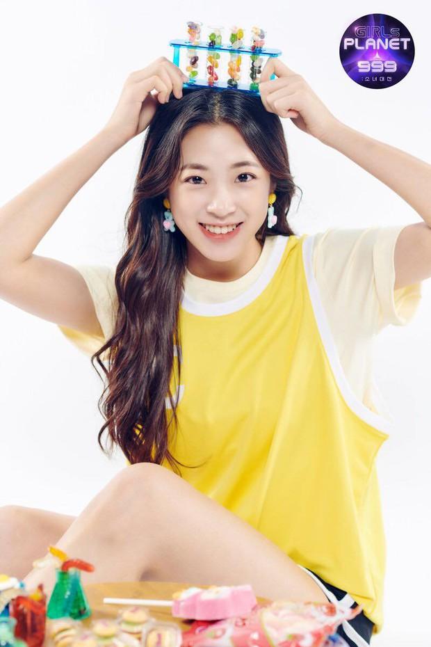 Thực tập sinh nói tiếng Việt tại show Mnet: Là em gái AOA, visual đáng yêu và có nửa dòng máu Việt Nam? - Ảnh 1.
