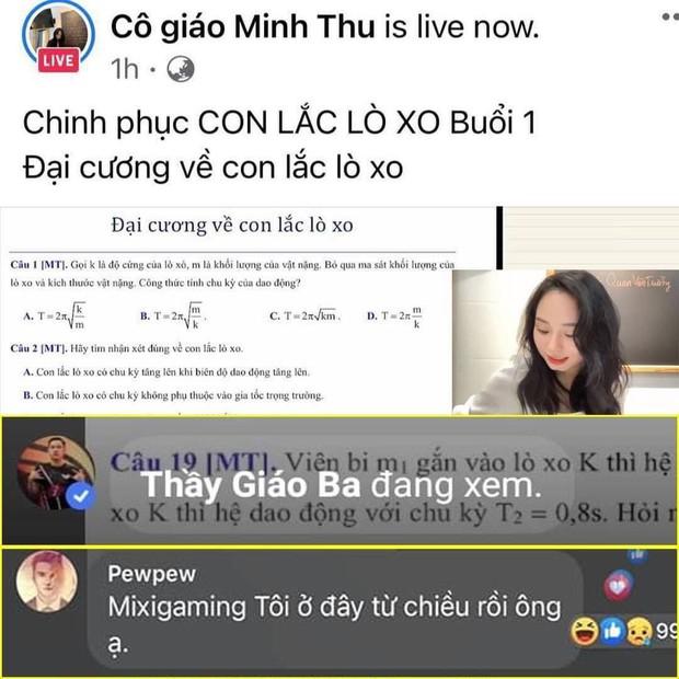 Hàng loạt người nổi tiếng vào xem cô giáo Vật lý livestream: Từ Độ Mixi đến thủ môn Văn Lâm, bất ngờ nhất là nhân vật từng gây bão U23VN - Ảnh 3.