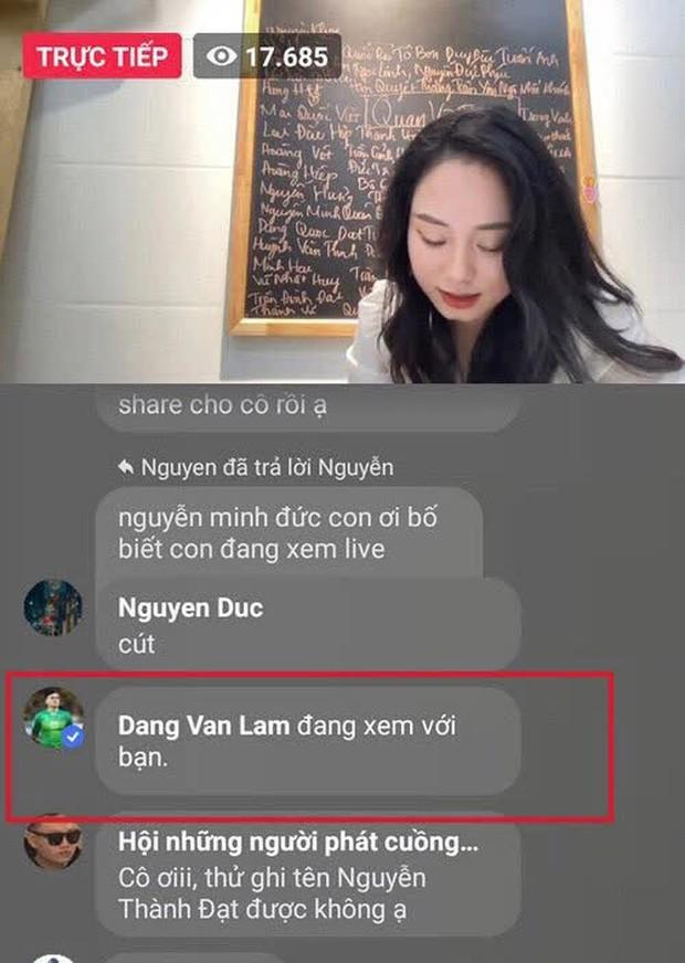 Hàng loạt người nổi tiếng vào xem cô giáo Vật lý livestream: Từ Độ Mixi đến thủ môn Văn Lâm, bất ngờ nhất là nhân vật từng gây bão U23VN - Ảnh 5.
