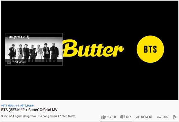 Tưởng Butter của BTS nắm kỉ lục lượt xem công chiếu mọi thời đại, ai dè có 1 MV thành tích cao gấp 127 lần nhưng Gen Z nào hay biết! - Ảnh 1.