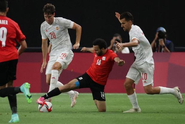 Dàn sao Euro 2020 gây thất vọng, Olympic Tây Ban Nha bị Ai Cập chia điểm - Ảnh 8.