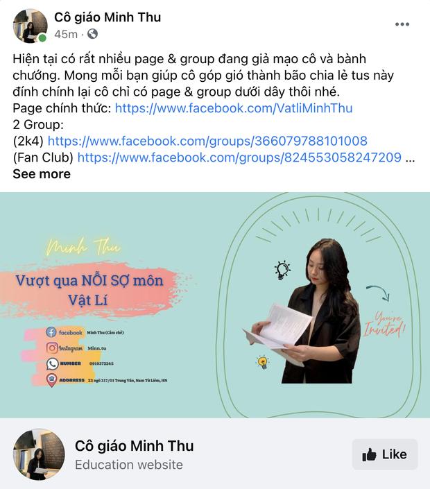 Cô giáo Vật lý đang hot thanh minh chuyện đã có bạn trai, còn tha thiết mong netizen làm 1 điều cho mình - Ảnh 4.