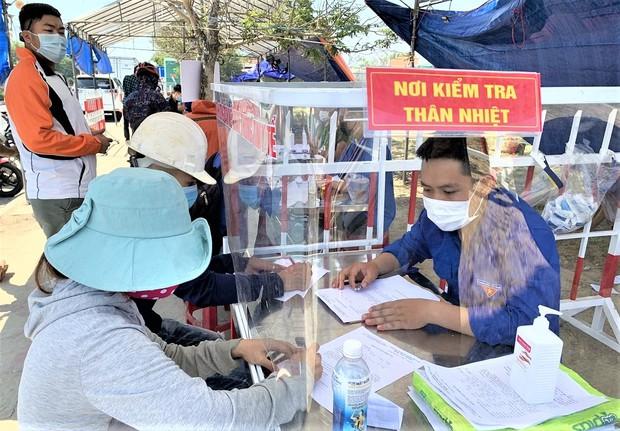 Quảng Nam phát hiện 6 người mắc COVID-19 liên quan F0 ở Đà Nẵng - Ảnh 1.