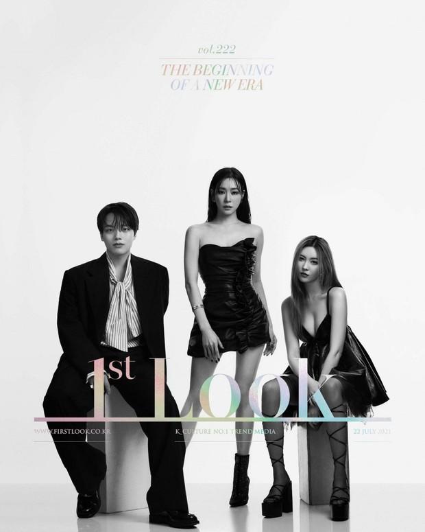 Bộ 3 giám khảo show sống còn đổ bộ tạp chí: Sao nhí Mặt Trăng Ôm Mặt Trời lột xác, Tiffany - Sunmi o ép vòng 1 ngồn ngộn - Ảnh 2.
