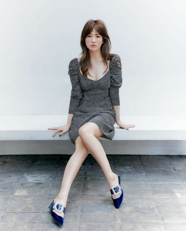 Cuộc đại tu body của Song Hye Kyo: Xưa chân thô ngắn 1 mẩu dìm sạch dáng, nay lột xác ngoạn mục đến mức được khen là tỷ lệ vàng - Ảnh 13.