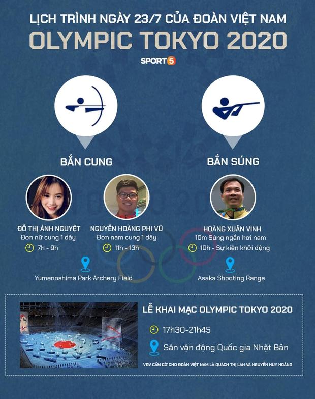 Olympic Tokyo ngày 23/7: Bắn cung mở hàng cho đoàn thể thao Việt Nam - Ảnh 21.
