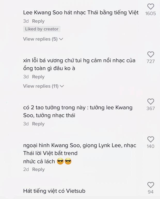 Cư dân mạng ngỡ ngàng, ngơ ngác khi Lee Kwang Soo hát nhạc Thái lời Việt nhưng giọng lại giống Lynk Lee? - Ảnh 5.