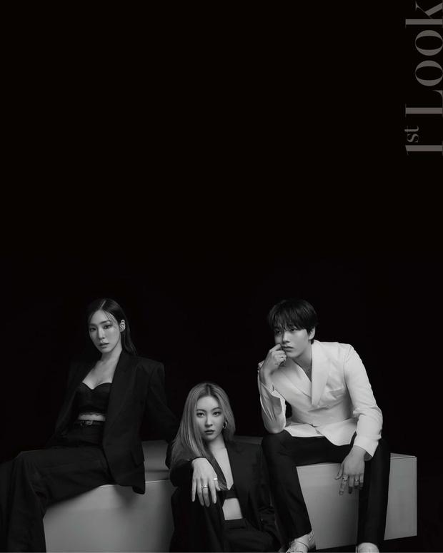 Bộ 3 giám khảo show sống còn đổ bộ tạp chí: Sao nhí Mặt Trăng Ôm Mặt Trời lột xác, Tiffany - Sunmi o ép vòng 1 ngồn ngộn - Ảnh 4.