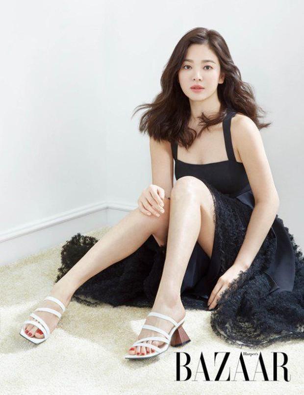 Cuộc đại tu body của Song Hye Kyo: Xưa chân thô ngắn 1 mẩu dìm sạch dáng, nay lột xác ngoạn mục đến mức được khen là tỷ lệ vàng - Ảnh 14.