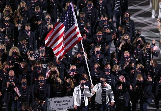 Đài lửa Olympic được thắp sáng, ngày hội thể thao lớn nhất thế giới chính thức bắt đầu!!! - Ảnh 17.