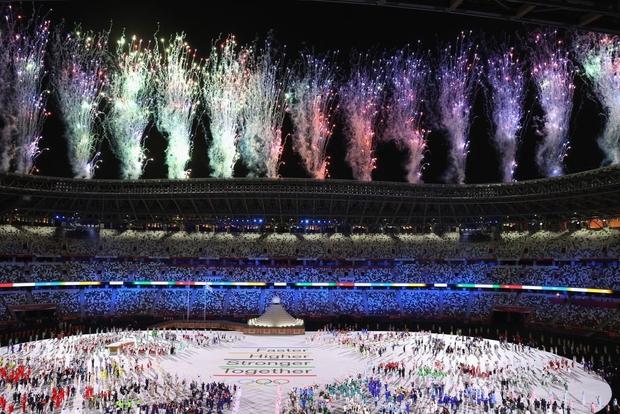Đài lửa Olympic được thắp sáng, ngày hội thể thao lớn nhất thế giới chính thức bắt đầu!!! - Ảnh 11.