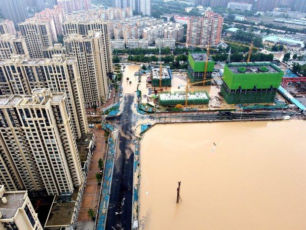 Lý do vì sao Trung Quốc hứng chịu trận lũ ngàn năm có một: Cả một combo hủy diệt của tự nhiên - Ảnh 1.
