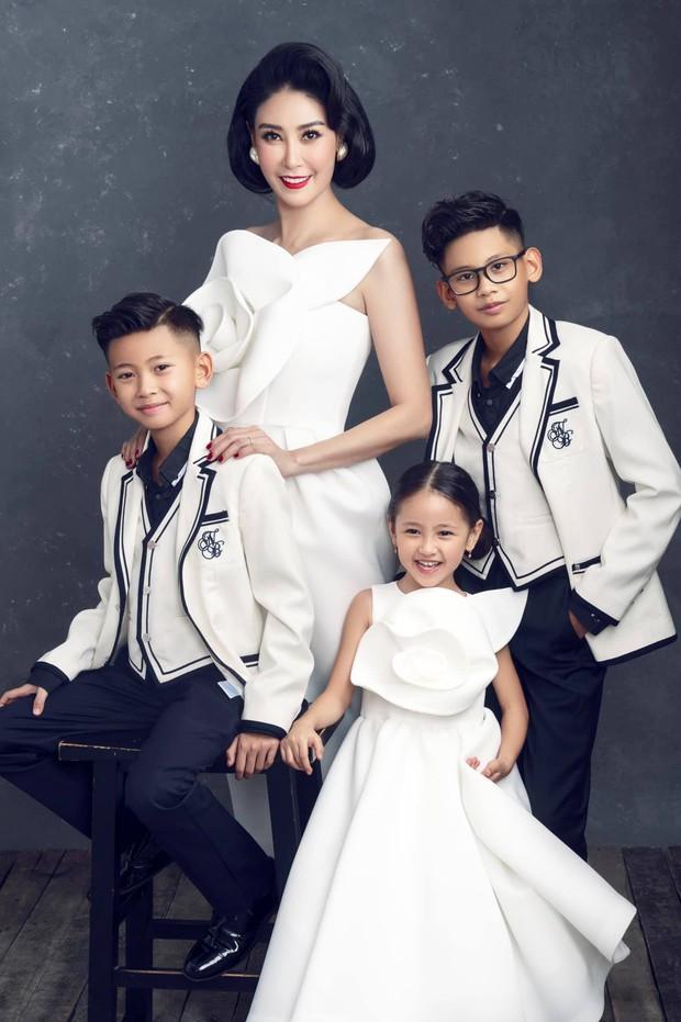 """Hà Kiều Anh kỉ niệm 14 năm ngày cưới sau ồn ào công chúa triều Nguyễn, visual cả nhà """"đỉnh chóp"""" nhưng có 1 điều gây tiếc nuối! - Ảnh 5."""