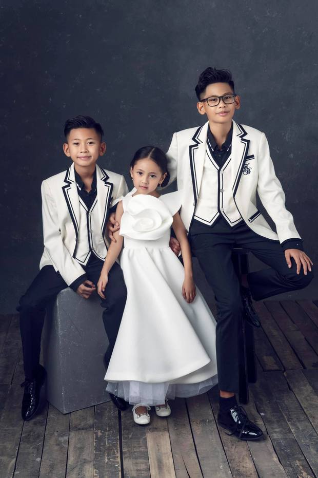 """Hà Kiều Anh kỉ niệm 14 năm ngày cưới sau ồn ào công chúa triều Nguyễn, visual cả nhà """"đỉnh chóp"""" nhưng có 1 điều gây tiếc nuối! - Ảnh 6."""