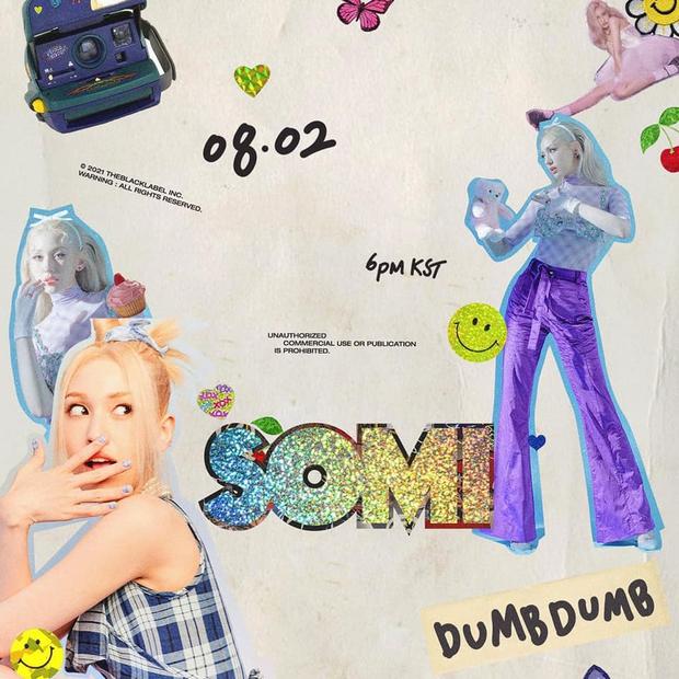 Chờ cả năm trời mà Somi vẫn chỉ comeback với single: Visual trông rất BLACKPINK nhưng bài hát lại là Red Velvet? - Ảnh 3.