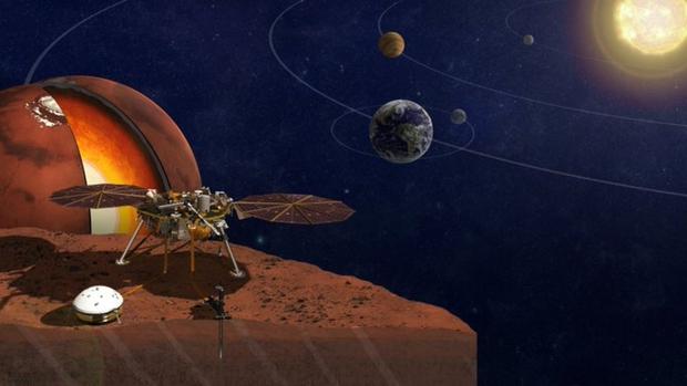 Phát hiện bất ngờ sau khi NASA lần đầu tiên vẽ được bản đồ bên trong sao Hỏa - Ảnh 1.