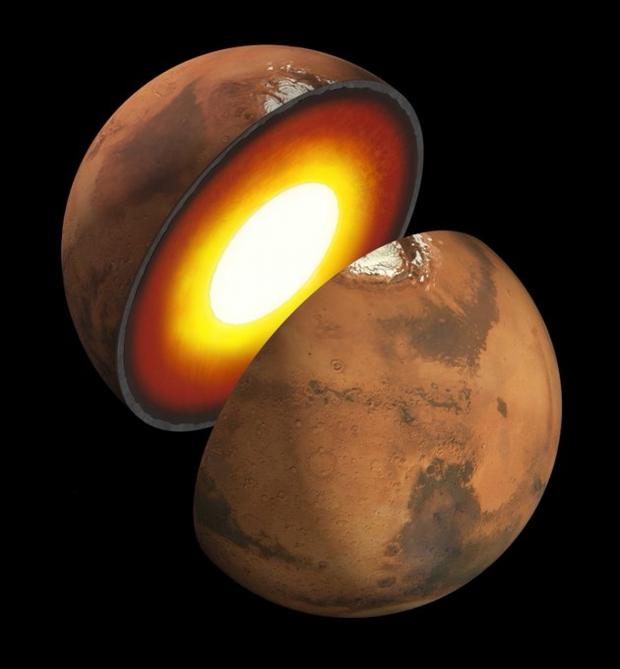 Phát hiện bất ngờ sau khi NASA lần đầu tiên vẽ được bản đồ bên trong sao Hỏa - Ảnh 2.