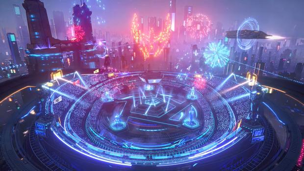 Nhìn lại kỹ xảo tại AWC 2021: MC ảo, đấu trường ảo và Suboi trình diễn cũng là ảo! - Ảnh 1.