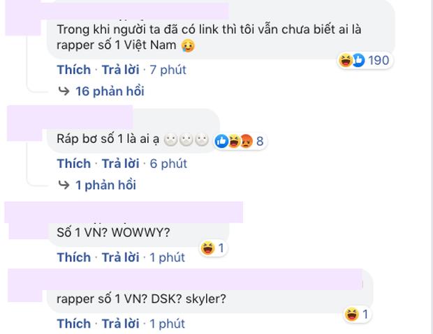 Câu hỏi lớn nhất lúc này: Ai là rapper số 1 Việt Nam? - Ảnh 6.