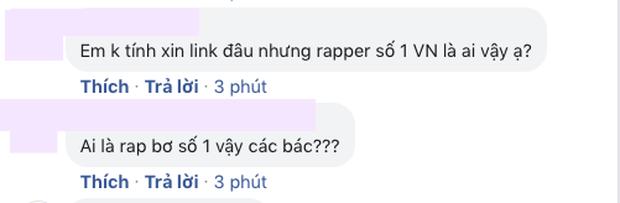 Câu hỏi lớn nhất lúc này: Ai là rapper số 1 Việt Nam? - Ảnh 9.