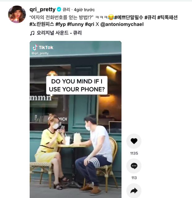 Clip: Thành viên T-ara bị trai lạ mượn điện thoại và cái kết  - Ảnh 6.