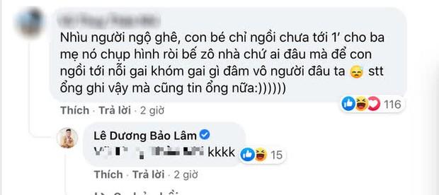 """Lê Dương Bảo Lâm hứng nguyên rổ """"gạch"""" từ netizen vì để con gái ngồi lên thực phẩm chụp ảnh, lời giải thích có hợp lý? - Ảnh 4."""