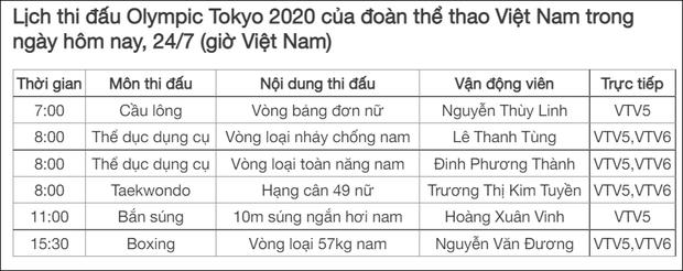 Olympic 2020 ngày 24/7: Các hot boy TDDC Việt Nam thi đấu nỗ lực dù bị thương - Ảnh 21.