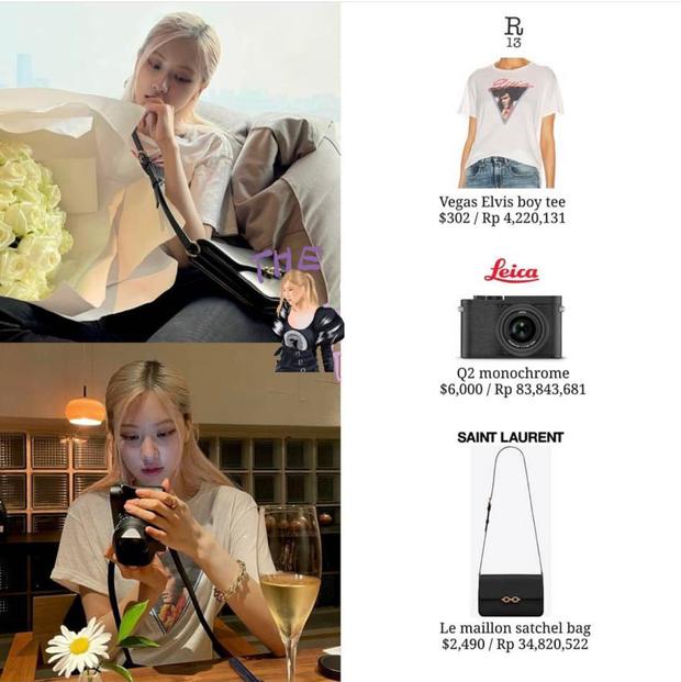 Rosé (BLACKPINK) khiến netizen ngã ngửa chỉ vì một chiếc máy ảnh - Ảnh 5.